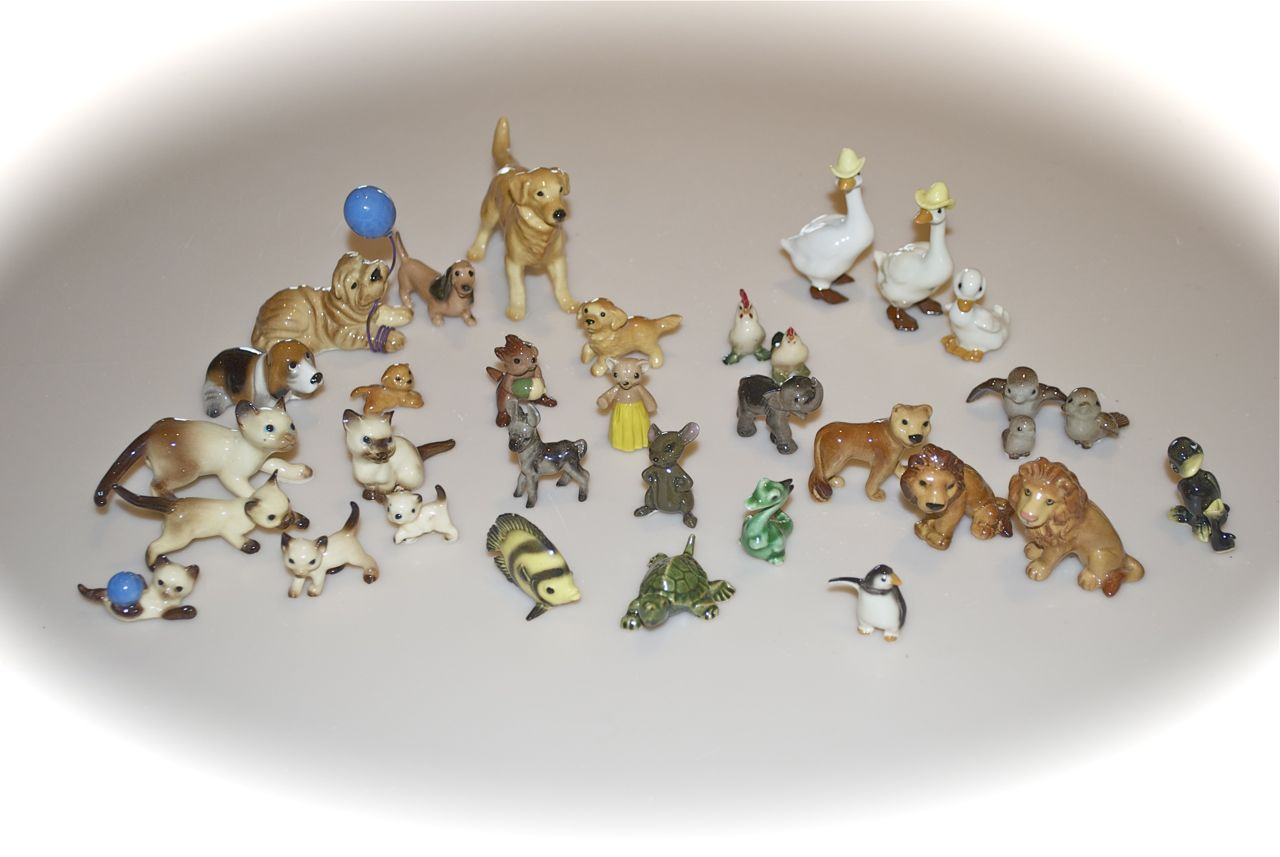 My Collections 8 Hagen Renaker S Small Porcelain Animals