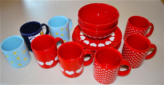 Waechters-what? : waechtersbach red dinnerware - pezcame.com