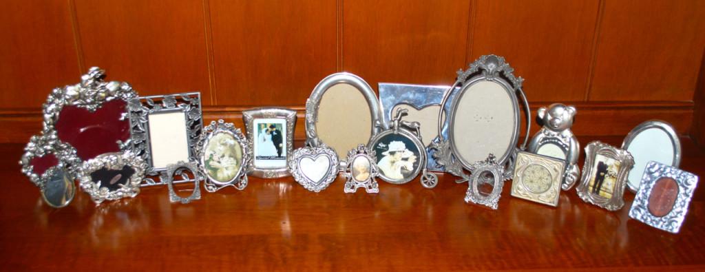 small silver frames missbargainhuntress