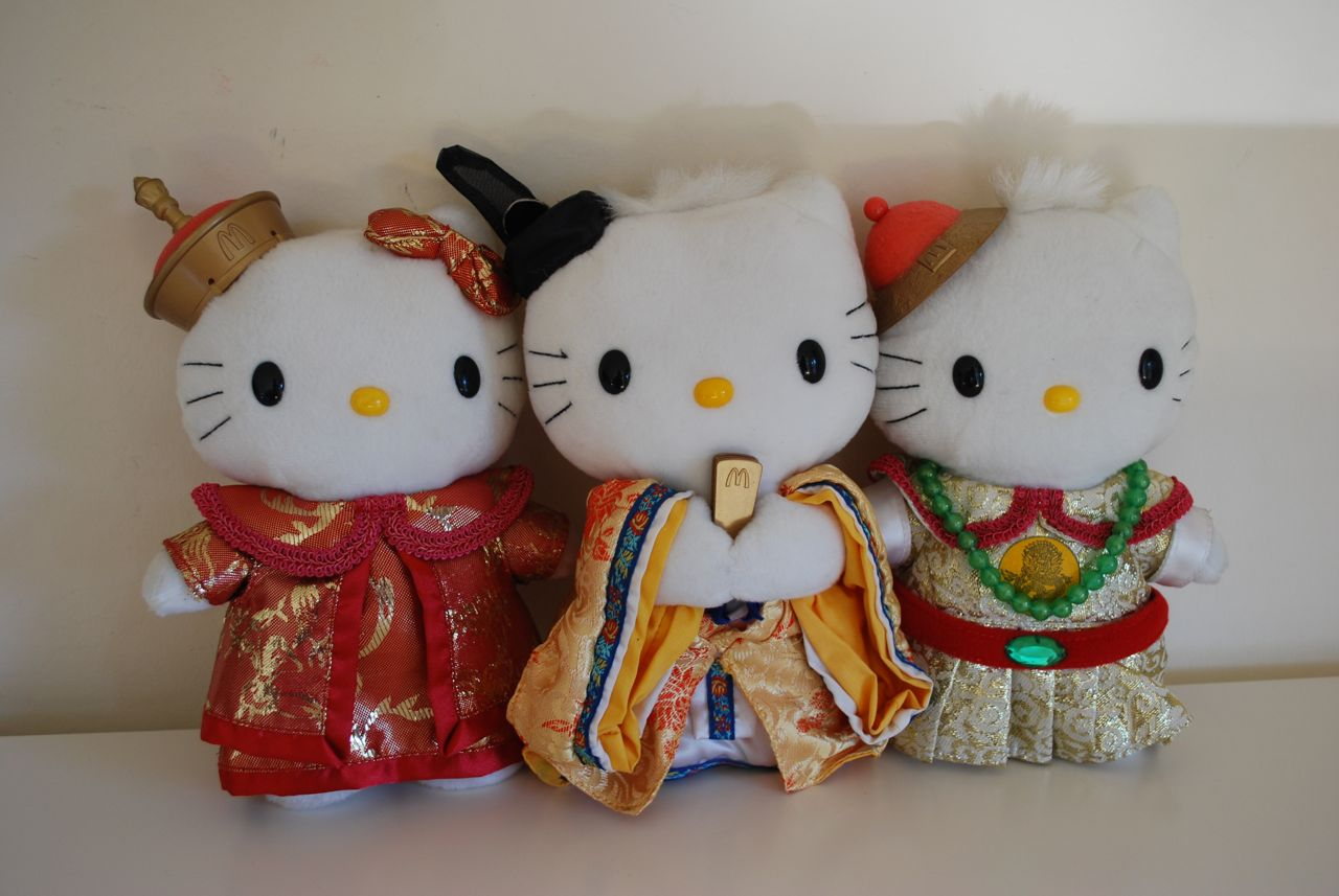 Hello Kitty Mcdonald S Toys : Mcdonald s hello kitty dear daniel dolls