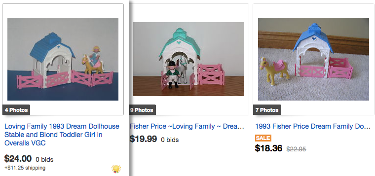 Fisher Price Loving Family & Dream Dollhouse Values ...