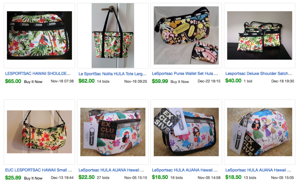 Collectible   Or Valuable LeSportsac Bags   MissBargainHuntress 28e486fb85