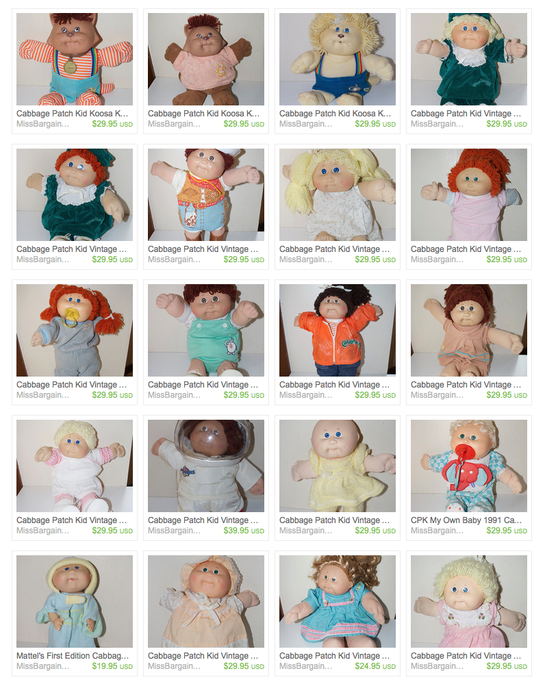 Cabbage Patch Kids Reevaluated | MissBargainHuntress