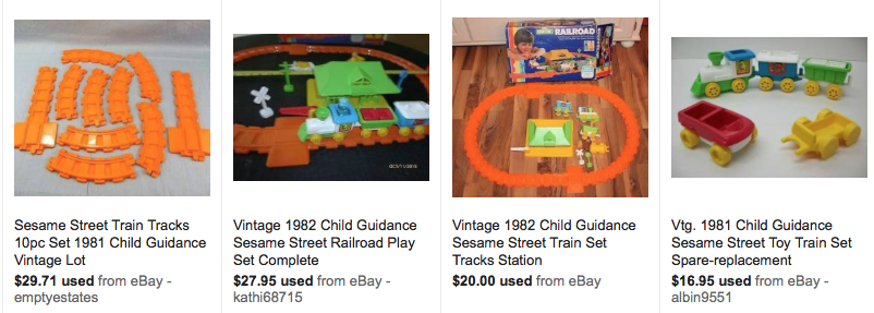 North To Thrift Quot Sesame Street Train Amp House Nerf Ping