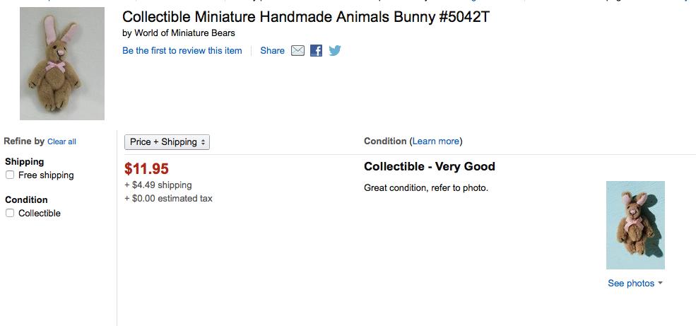 more easter bunnies for easter missbargainhuntress