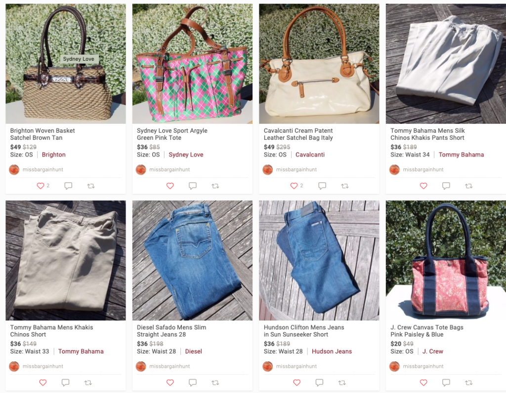 """8ba0663a5 ... on a blog post so I thought I'd show them off proudly where they're  more easily viewed. Click away or find them in my Poshmark Closet under  """"Just In."""""""