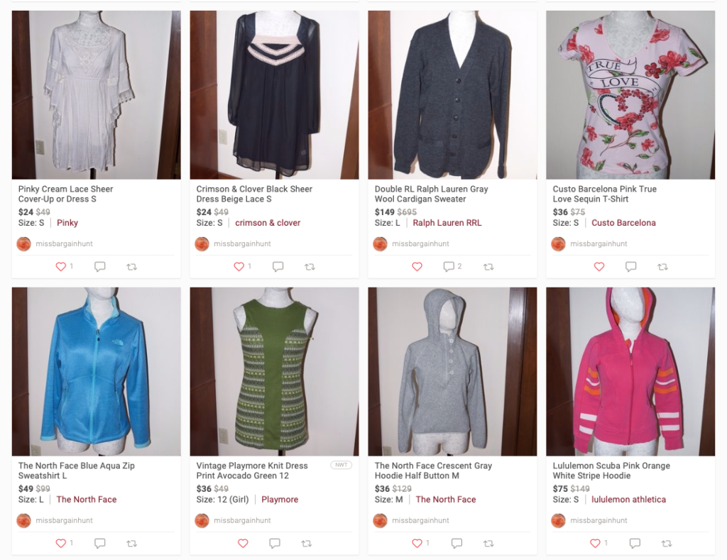 """855834fa ... on a blog post so I thought I'd show them off proudly where they're  more easily viewed. Click away or find them in my Poshmark Closet under  """"Just In."""""""